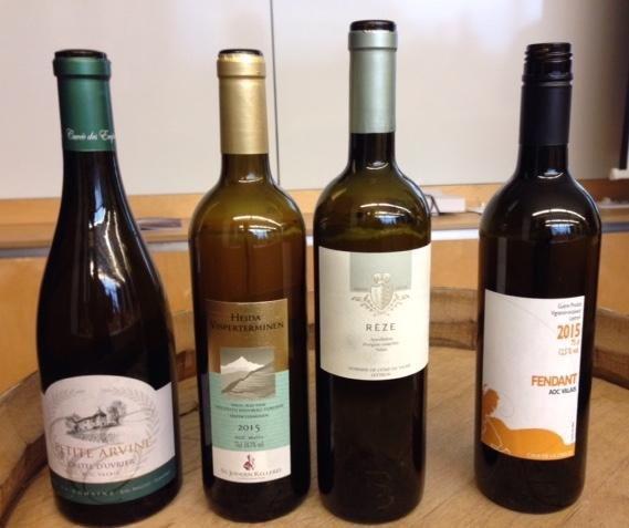 Weißweine des Wallis
